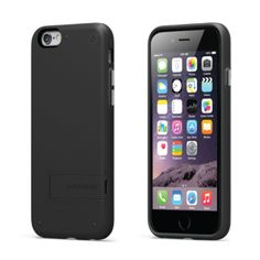 PURE.GEAR SLIM SHELL KICKSTAND IPHONE 6 PLUS 5.5 PULGADAS NEGRO (MODELO 2)