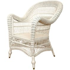 Victorian Wicker Arm Chair ❤