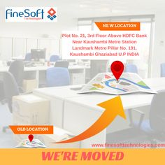 Finesoft Technologies is now shifted to a new location. #officeshift #officemove