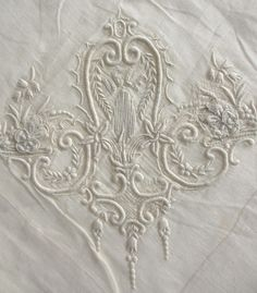 Whitework Example from the Royal School of Needlework exhibition