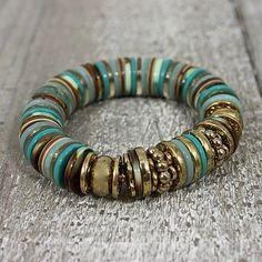 Tendance Bracelets – Turquoise Buttons Bracelet/ It needs more diversity in sizes, the colour differe… Tendance & idée Bracelets 2016/2017 Description Turquoise Buttons Bracelet/ It needs more...