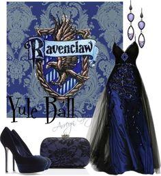 """""""Yule Ball: Ravenclaw"""" by arreyn-grey on Polyvore"""
