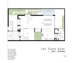 2H House,First Floor Plan