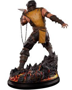 Scorpion 1/4 Statue - Mortal Kombat X - Pop Culture Shock