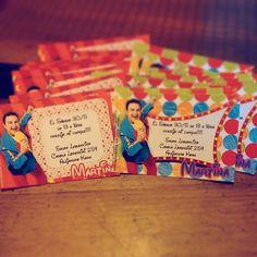 #InvitacionCumpleaños  #Topa #Disney Junior Express, Babyshower, Pop Tarts, Snack Recipes, Birthday, Disney, Party, Food, Valentino