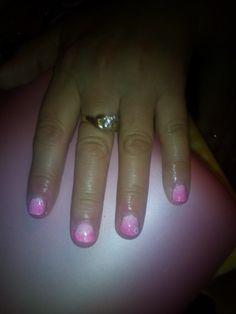 Degrade unghie corte