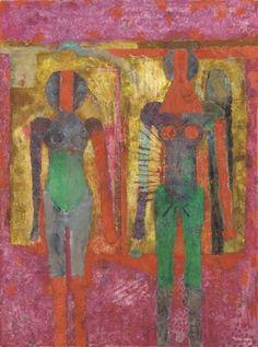 'Dos mujeres' (1968) by Rufino Tamayo