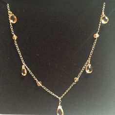 Gemdroplets in Citrine for the Royal Academy of Dance by Lily Flo Jewellery