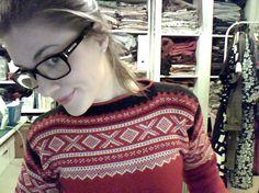 Ida Victoria: Fredagsfavoritt fra Epla Scandinavian, Christmas Sweaters, Jumper, Victoria, Fashion, Moda, Fashion Styles, Christmas Jumper Dress, Jumpers