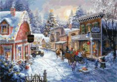 Good old days - Christmas cross stitch | Yiotas XStitch
