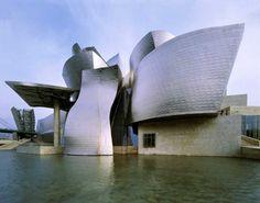 Guggenheim Museum - Bilbao, Spain - Frank Gehry