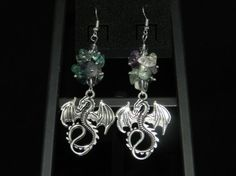 Check out this item in my Etsy shop https://www.etsy.com/listing/267150134/ft1001-dragon-fluorite-chip-earrings