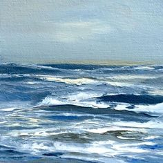 34/100 oil painting on canvas - Zenscapes by Judy Jacobs