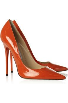 Anouk patent leather pumps by Jimmy Choo