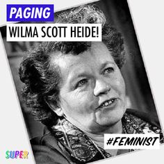 FEB. 26TH: #HappyBirthday to feminist author and social activist Wilma Scott Heide!  Wilma was involved in the Pittsburgh Press case that ended the practice of listing separate help wanted ads for men and women!  She also served as the 3rd President of the @nationalnow!  #WomenCanDoAnything #feminist