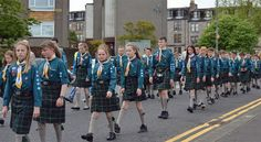 IN Pictures -- Greenock Scout Parade And Town Hall Celebration