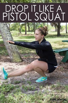 How to do a pistol squat sponsored by CALIA by Carrie Underwood