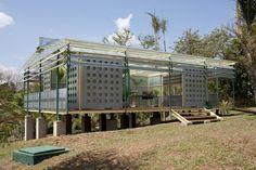 rirkrit tiravanija - palm pavilion INHOTIM