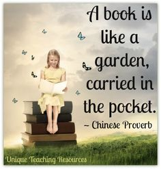 Appeals to the gardener and librarian in me.  :-)