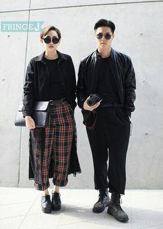 2014 seoul fashion week F/W #street fashion #korea fashion