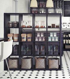 Aire ouverte: 5 façons de diviser l'espace   Les idées de ma maison Photo: ©IKEA #deco #espace #diviser #cloison #aireouverte #loft #cuisine