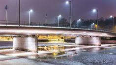 Bridge over the Aura river by Tomasz Wozniak on 500px