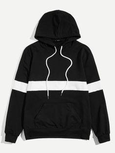 YUNY Men Pockets Fashionable Long Sleeve Floral Hoode Pullover Sweatshirt Khaki 2XL