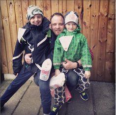 For 4. år i træk deltager drengene i Camillas familie i landsindsamlingen  #visflaget 2016