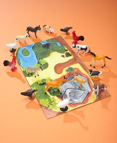 Animal Figures with Play Mat | LTD Commodities