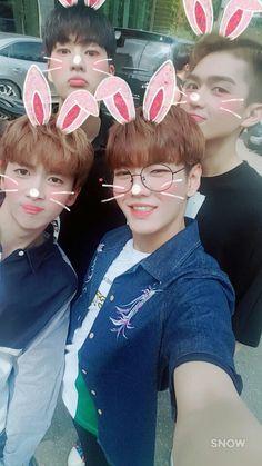 UP10TION Kogyeol, Gyujin, Hwanhee & Xiao