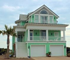 beach cottage ideas Give your house a gingerbread-y look with a fabulous decorative coastal house trim from Island Creek Designs . Beach Cottage Exterior, Cottage Porch, Beach Cottage Style, Beach Cottage Decor, Coastal Cottage, Coastal Homes, Coastal Decor, Beach Homes, Coastal Living