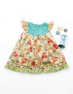Matilda Jane Mrs. Weasley flutter dress