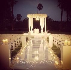 I cannot decide - day time or night time wedding. the lights and with candles would be so romantic but outdoor during the day seems more lively and happy.