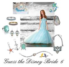 Guess the Disney Bride 6 by laurascandi on Polyvore featuring Chloe + Isabel, Disney, Chloé, women's clothing, women's fashion, women, female, woman, misses and juniors: