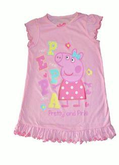 Peppa Pig Pink Nighty $16.00. Website: http://www.cooldudeskids.com   Facebook: https://www.facebook.com/CooldudesKids
