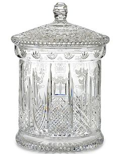 Waterford 12 Days of Christmas Lidded Biscuit Barrel