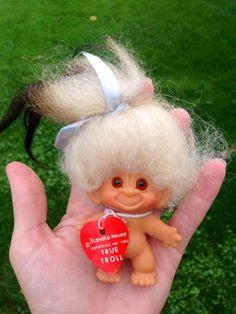 Vintage troll  dam troll  1964 troll  Scandia troll doll Thomas Dam Troll True Troll Doll