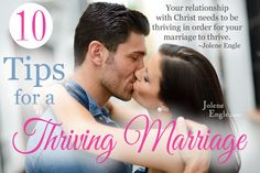 10 tips for a thriving (Christ-centered) marriage