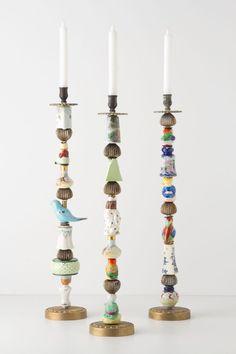 Trinket & Treasure Candlestick - Anthropologie.com