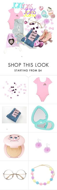 """kawaii jeans"" by omgnancyisfancy ❤ liked on Polyvore featuring chuu, claire's, H&M and Forever 21"