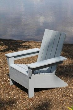 Ana's Adirondack Chair. Maybe someone will make these for me