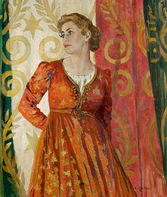 Peggy Ashcroft  as Juliet by Ethel Léontine Gabain, 1935. © Royal Shakespeare Company Collection. London.