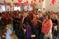 Red Balloons on Pentecost Sunday @ Salem First United Methodist Church