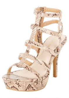 Landon Caged Platform Heel - Shoes - Whats New - Alloy Apparel