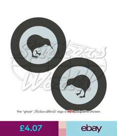 Other Militaria Zealand Airforce Rnzaf Lowvis Aircraft Roundel Stickers Decals Kiwi, Air Force, Decals, Aircraft, Stickers, Logos, Tattoos, Amazing, Ebay