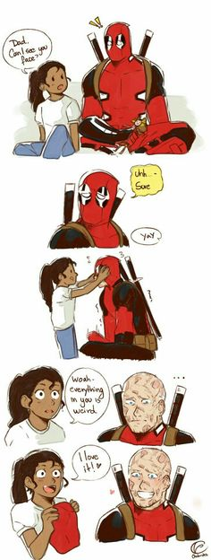 God freaking dang it forgive me Deadpool? MORE LIKE DAD POOL *shoots self*<< *resurrects the person and high fives them* Marvel Dc Comics, Marvel Avengers, Deadpool Y Spiderman, Batman Y Superman, Funny Marvel Memes, Dc Memes, Marvel Jokes, Avengers Memes, Marvel Art