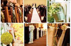 church wedding decor comtemporary | Catholic Church Wedding Decoration Photograph | Wedding Aisl