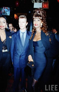 Iman & David Bowie : Muses, Lovers | The Red List