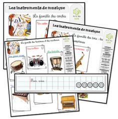Piccolo Saxo et Cie Montessori Classroom, Classroom Activities, Teaching Music, Teaching Resources, Kindergarten Lessons, Teaching French, Art Lesson Plans, Music Lessons, Activities For Kids
