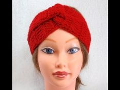 Knitting Patterns Headband DIY, Crochet Headband Turban, Tutorial, DIY Simple and Quick Gift Diy Crochet Headband, Baby Turban Headband, Baby Knitting Patterns, Crochet Patterns, Crochet Gratis, Crochet Diy, Crochet Twist, Turbans, Turban Tutorial